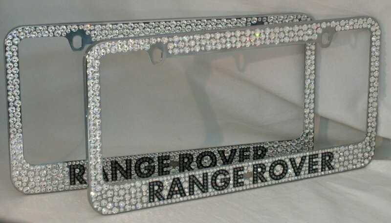 License Plate Frame With Name or Simple Logo