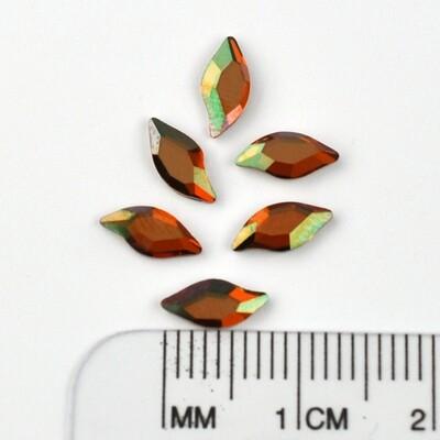 #2797 Copper Leaf 8 x 4 mm (6 pcs)