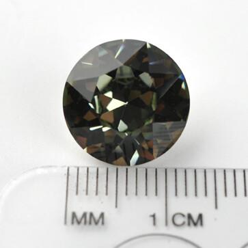 #1200 Black Diamond Chaton ss55 (1 pc)