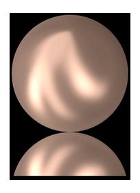 #2081/2 Cabochon Pearl Crystal Rose Gold Pearl (72 pcs) HF