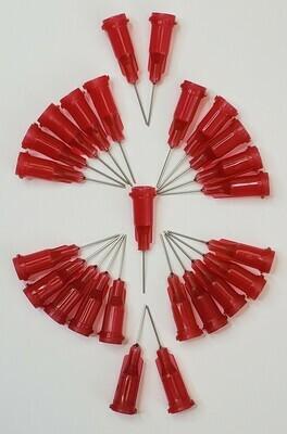 25-Piece Blunt Needle Glue Tips (25ga)