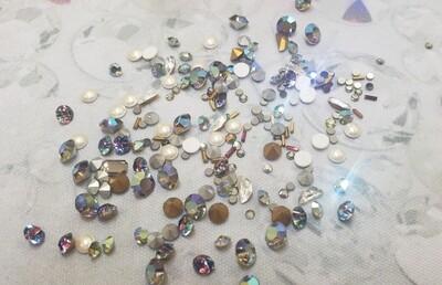Pearl Mist Bling Pack Swarovski Crystals