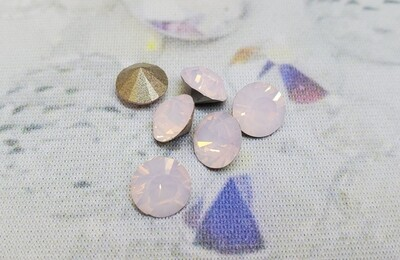#1028 ss34 Rose Water Opal 6pc.