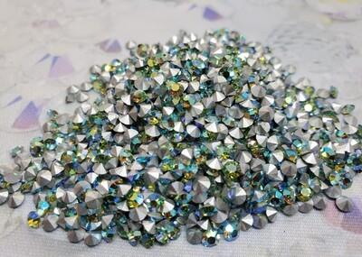 Peridot AB pp27 Vintage Swarovski crystals