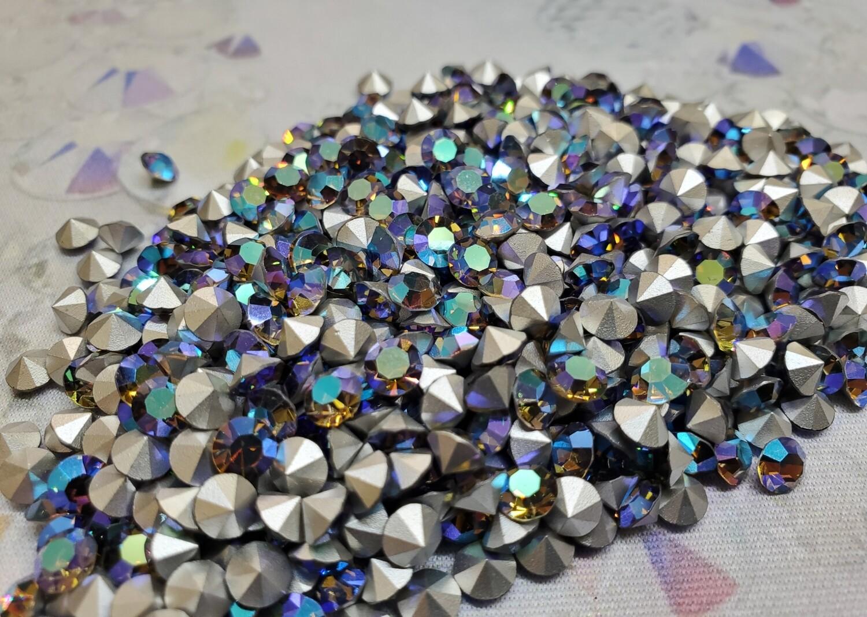 Starlight Silver!  pp24 5gr. Vintage Swarovski crystals