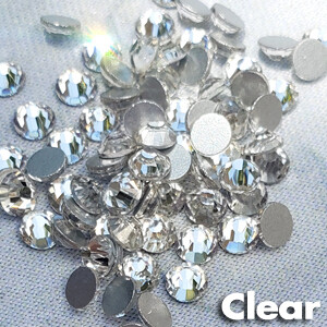 Clear - KiraKira Glass Rhinestones by CrystalNinja