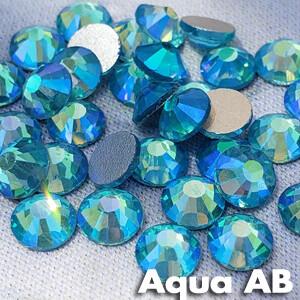 Aqua AB - KiraKira Glass Rhinestones by CrystalNinja