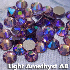 Light Amethyst AB - KiraKira Glass Rhinestones by CrystalNinja