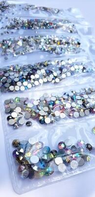 Aurora Borealis AB MIX - KiraKira Glass Rhinestones by CrystalNinja