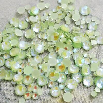 KiraKira Luminous Light Green Small Mix