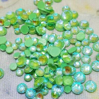 KiraKira Luminous Dark Green Small Mix