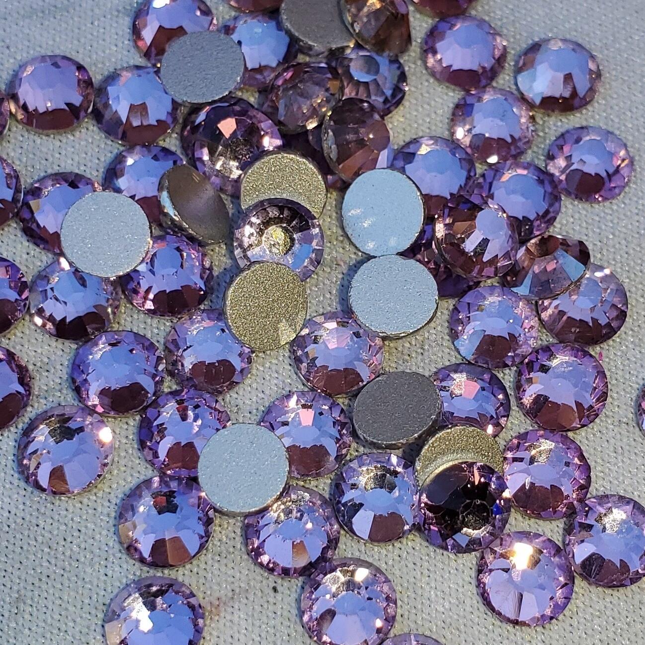 Pink Purple - KiraKira Glass Rhinestones by CrystalNinja