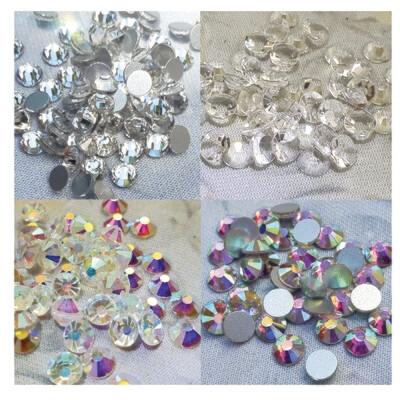 Clear Bundle - KiraKira Glass Rhinestones by CrystalNinja