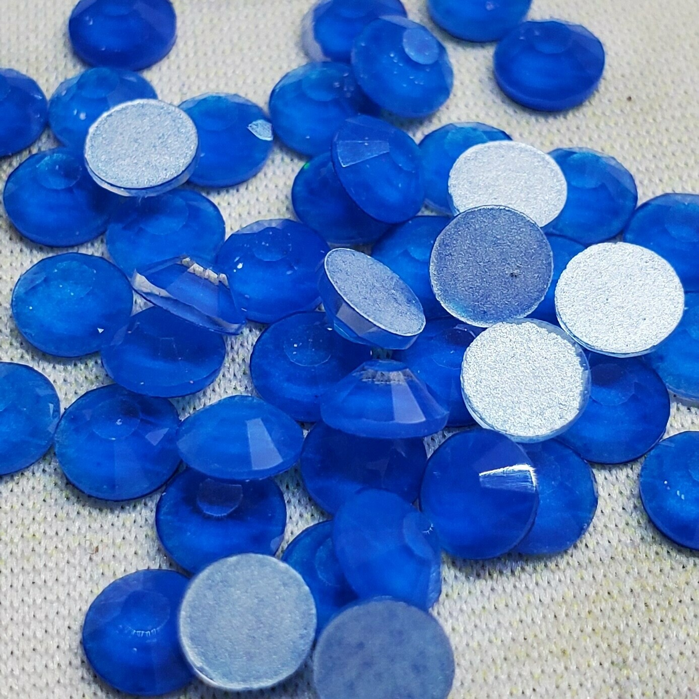 Neon Blue - PRESALE KiraKira Glass Rhinestones by CrystalNinja