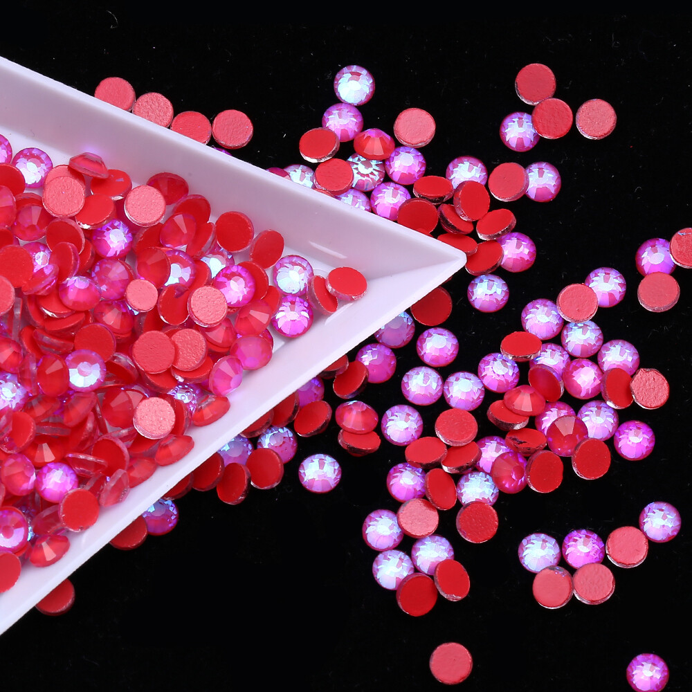 Mocca Red  - PRESALE KiraKira Glass Rhinestones by CrystalNinja