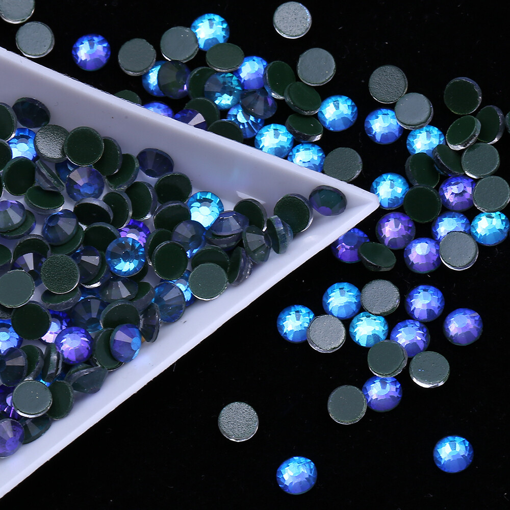Mocca Blue Purple  - PRESALE KiraKira Glass Rhinestones by CrystalNinja