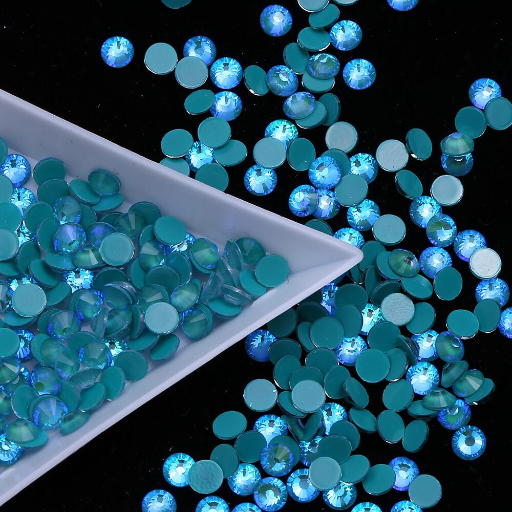 Mocca Emerald - PRESALE KiraKira Glass Rhinestones by CrystalNinja
