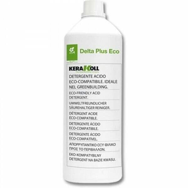 Смывка цементной затирки Delta Plus Kerakoll