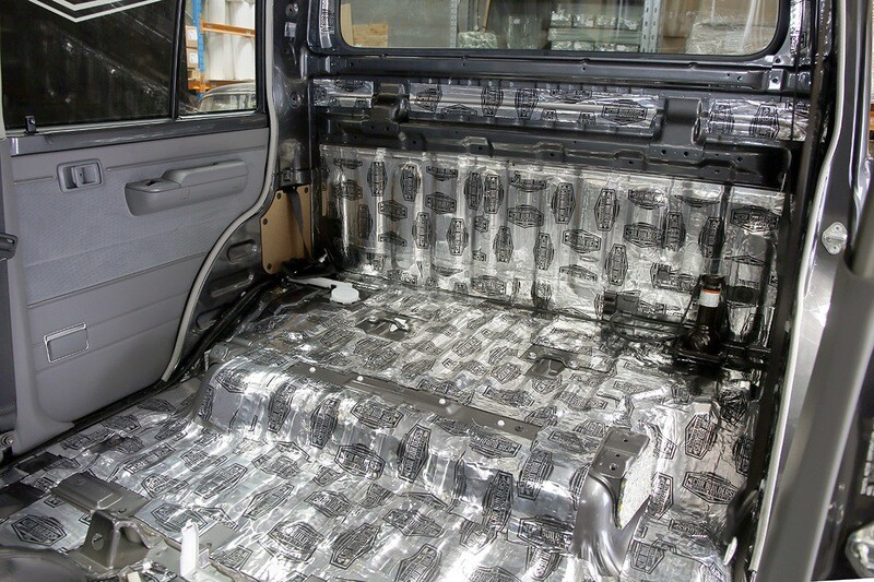 4x4 DUAL CAB Sound Deadening DIY Kit