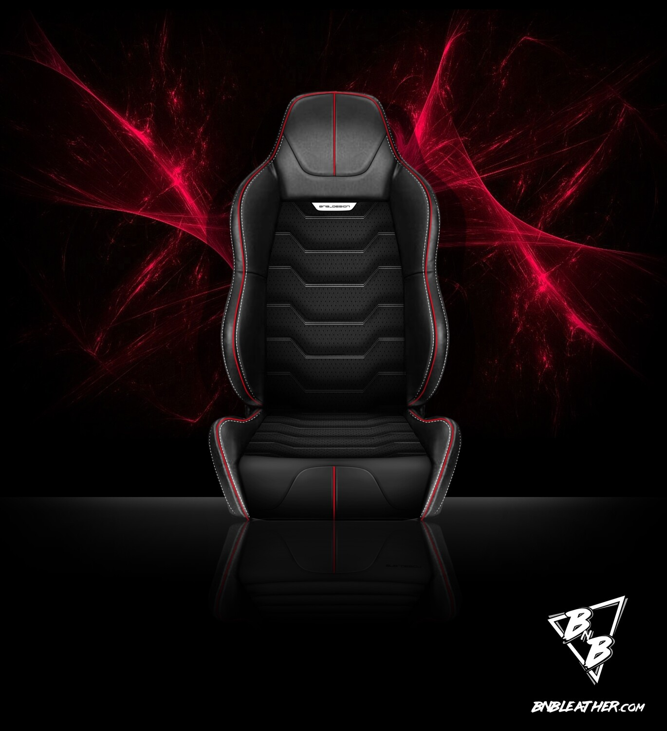 BNB 'FURY' Leather Sports Front Seat PAIR