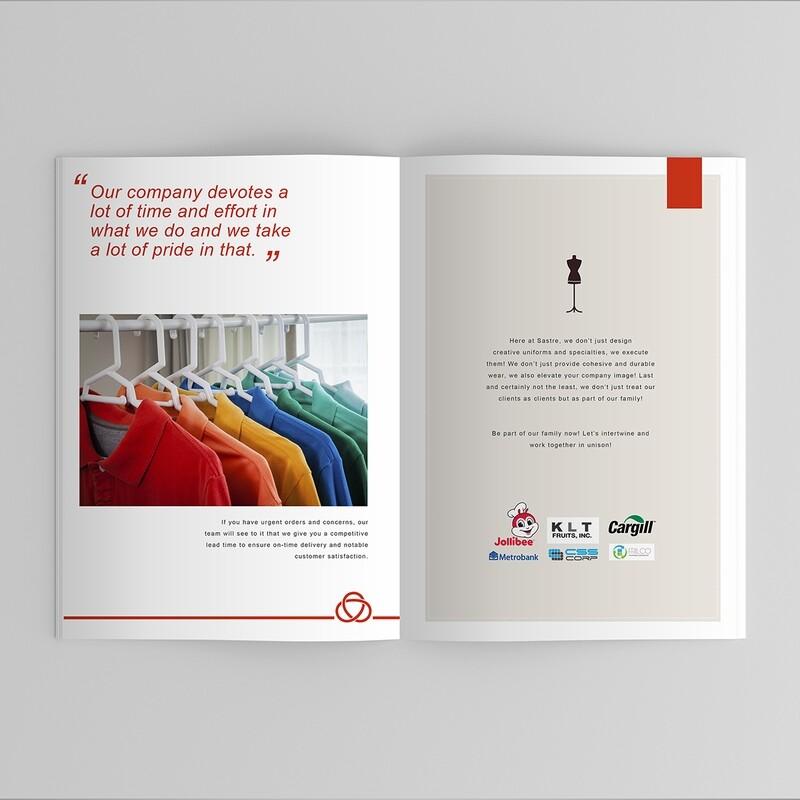 Company Profile Graphic Design Services