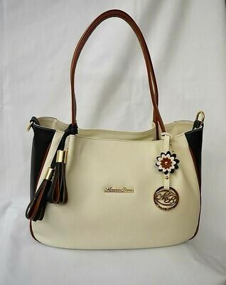 Bag Mod. Carmen Three Colours White Milk