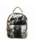 Compact Hair-On Backpack