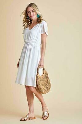 Bright & White Dress