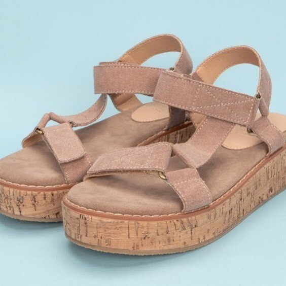 -Go To Strappy Sandal-