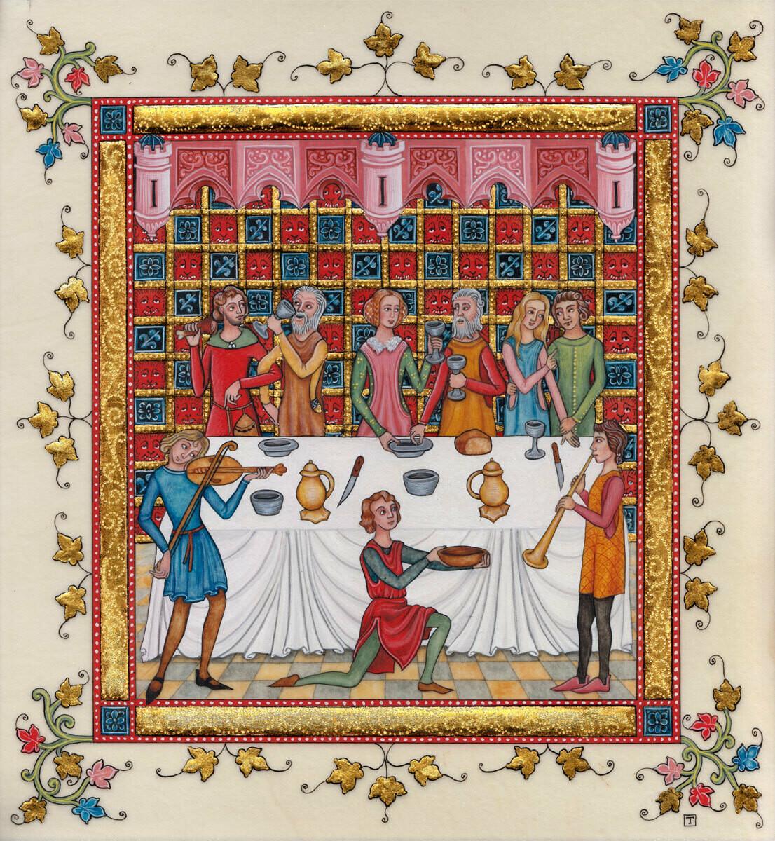 Gothic banquet