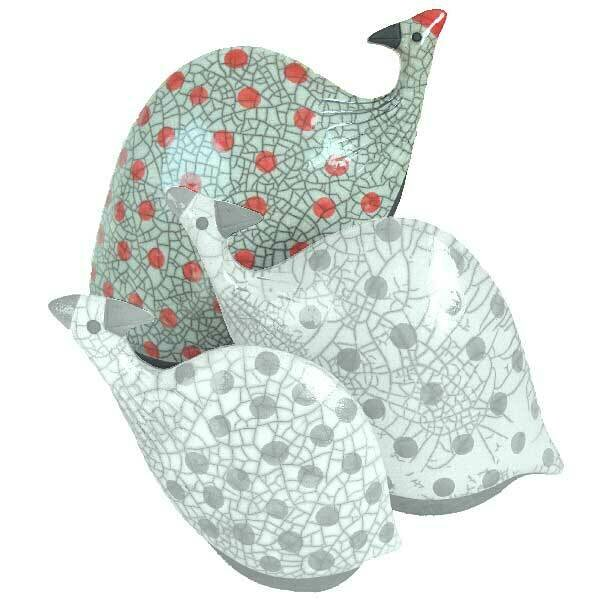 Guinea Fowl Large Red