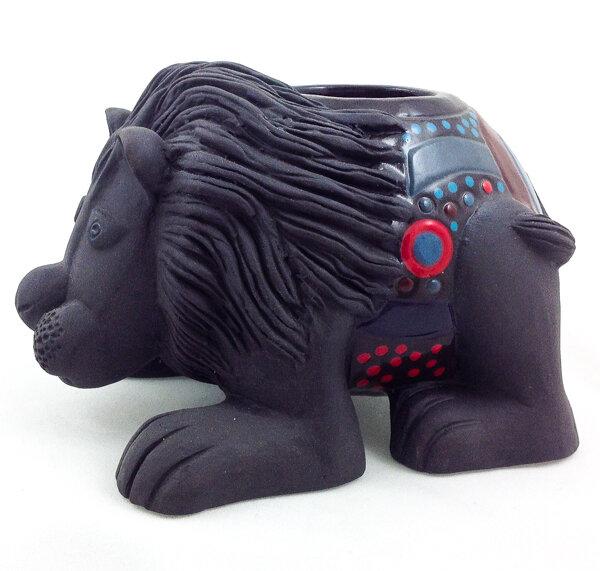 Lion Candle Holder
