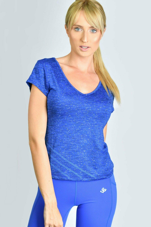 GP V-Neck T-shirt - Blue