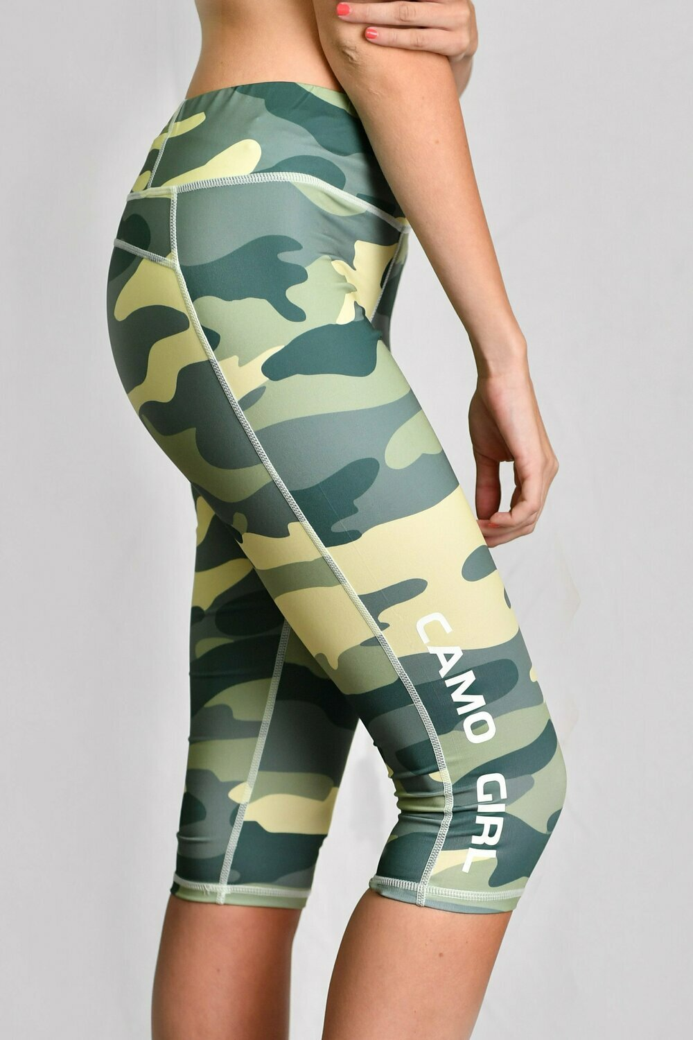 GP Camo Girl 3/4 Leggings