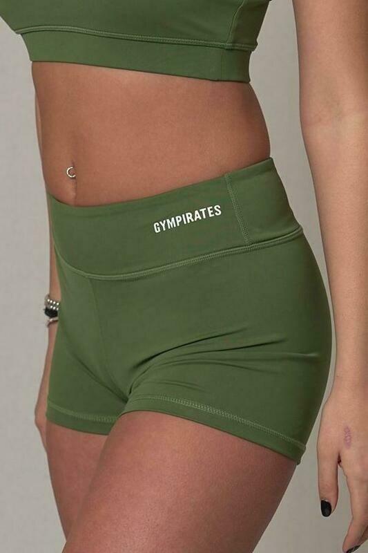 ALPHA Shorts - Kale Green