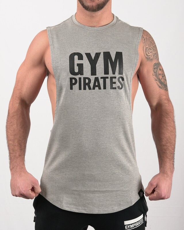 Drop Arm Tank - Grey