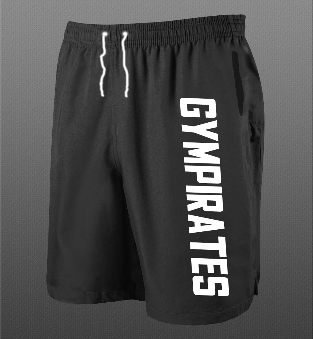 Gympirates Warrior Shorts - Black