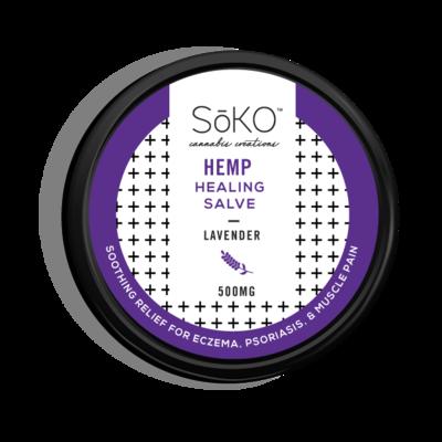Soko Hemp CBD Lavender Topical