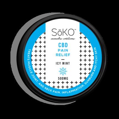 Soko Hemp CBD Icy Mint Topical