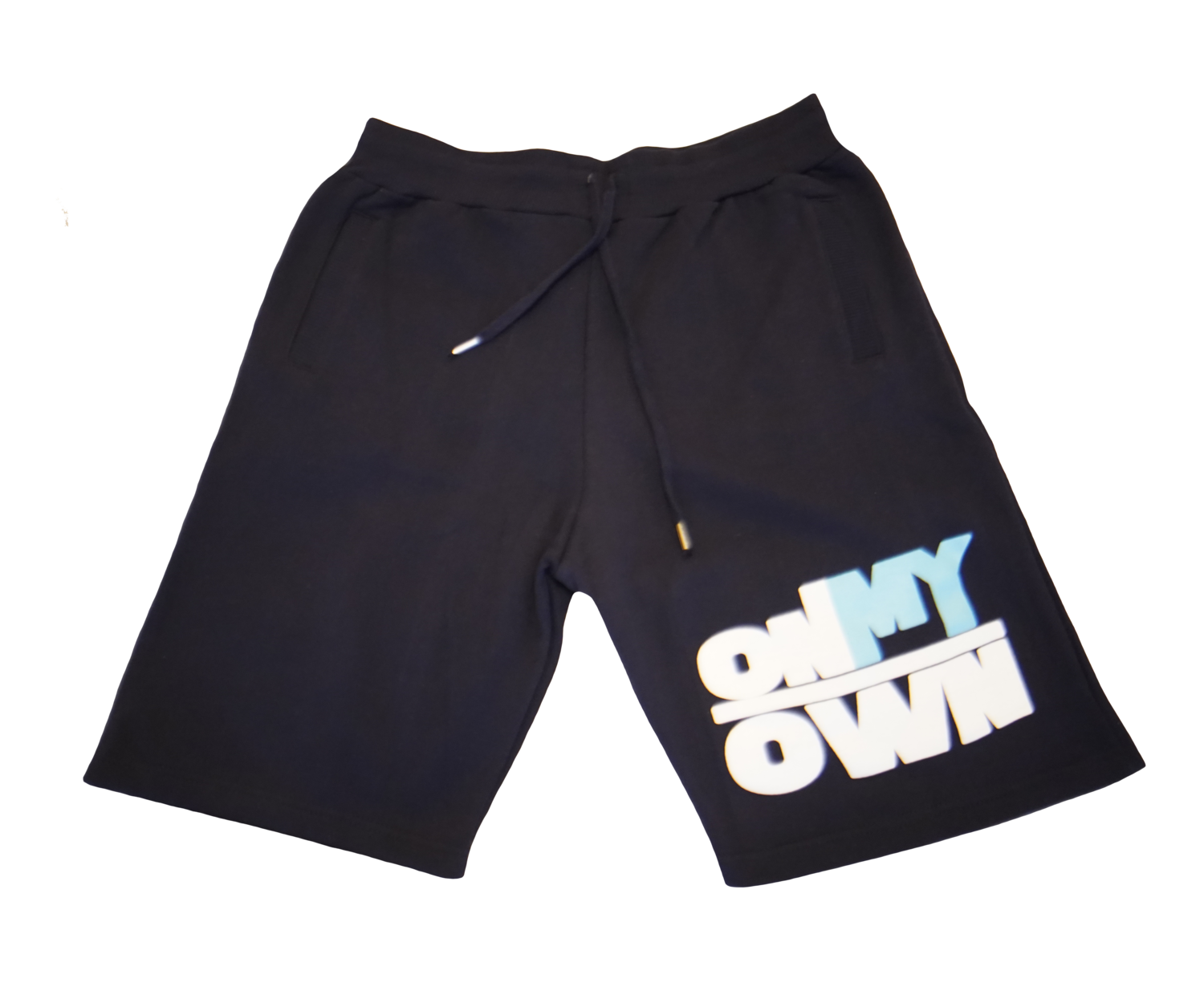 Navy OnMyOwn Shorts