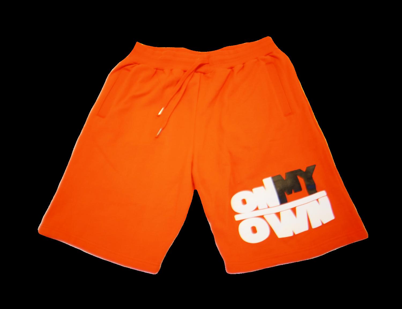 Orange OnMyOwn Shorts