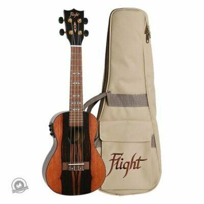 Flight: DUC460EQ Amara Concert Electro-Acoustic Ukulele with bag