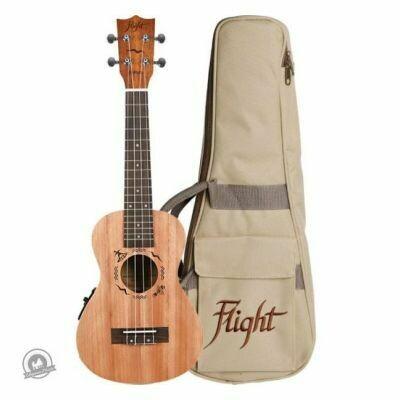 Flight: DUC523CEQ Concert Electro-Acoustic Ukulele