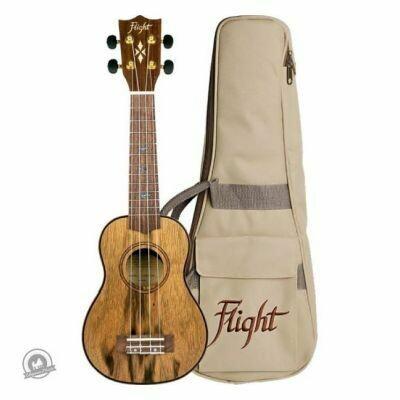 Flight: DUS430 Dao Soprano Ukulele (With Bag)
