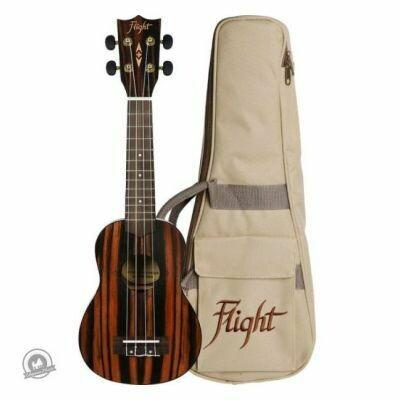 Flight: DUS460 Soprano Ukulele - Amara (With Bag)