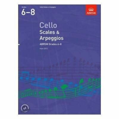 ABRSM Cello Scales & Arpeggios, Grades 6-8 (from 2012)