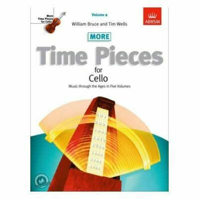 ABRSM More Time Pieces for Cello, Volume 2
