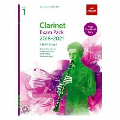 ABRSM Clarinet Exam Pack Grade 1 2018-2021