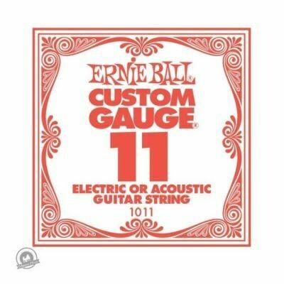 Ernie Ball .011 Plain Ballend Guitar String