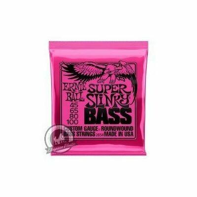 Ernie Ball Super Slinky Bass Guitar Strings (Set)